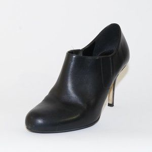 Cole Haan Leather Stiletto Ankle Boot Black 9 B